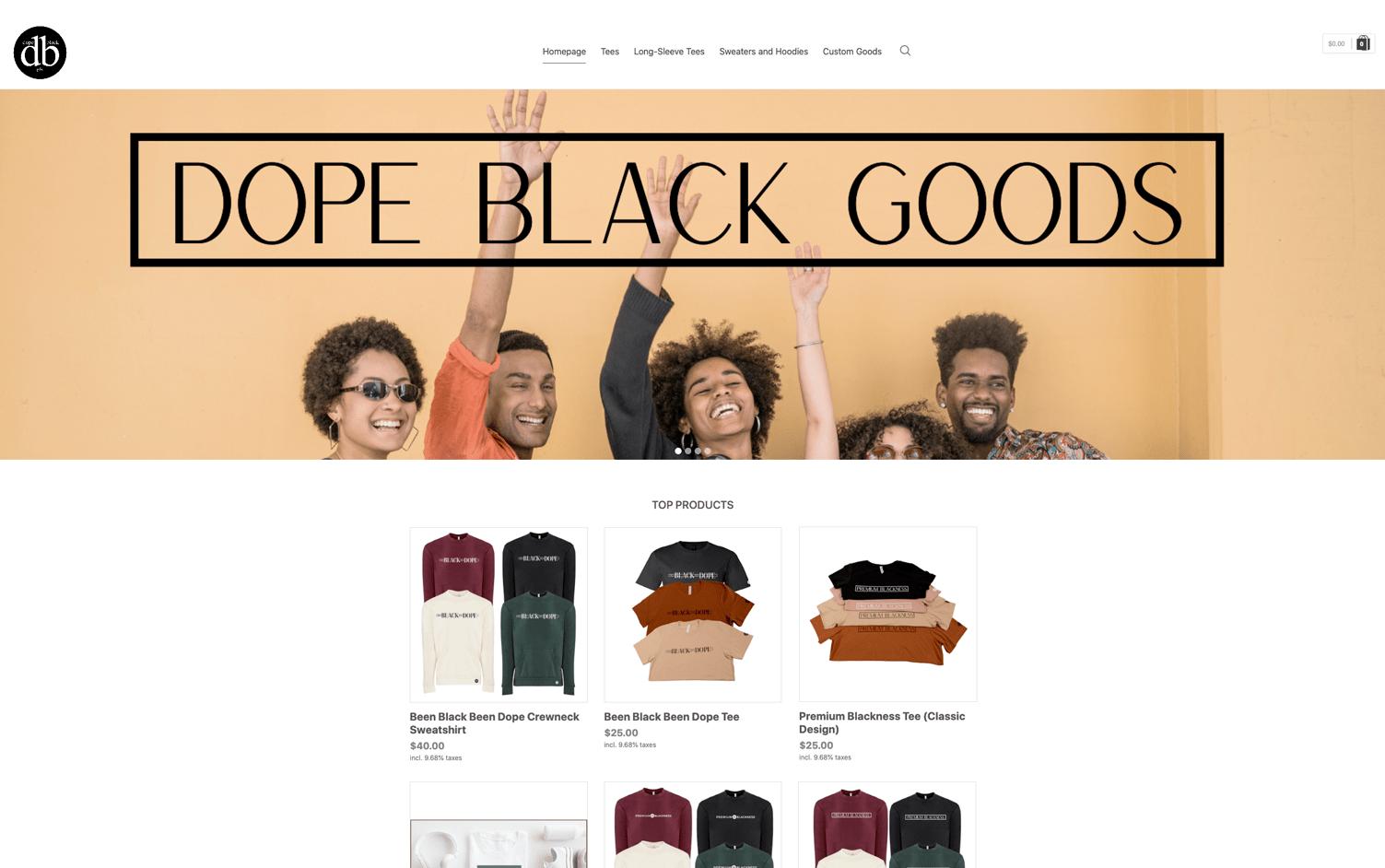 Dope Black Goods